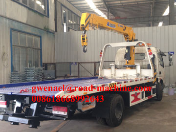Roatation 360 ° Knuckle Boom Truck Mounted Cranes Peralatan 25000ton 37kw