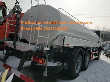 Sinotruk Howo7 6x4 10 Ban Konstruksi Anti Korosi Internal Truk Air Transport 18-25CBM
