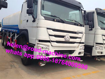 Diesel 6x4 Drive Wheel Liquid Tanker Truck, Trailer Tangki Air